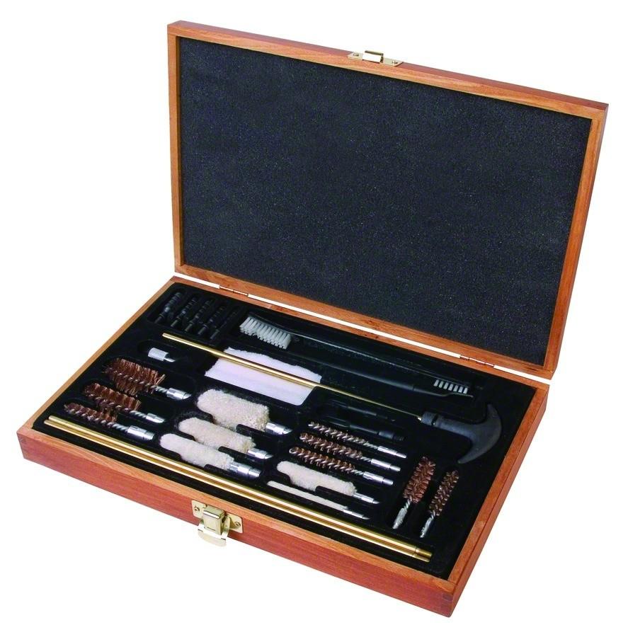 OUTERS Universale Kit Pulizia 28 pezzi Universal Wood Gun Cleaning Box