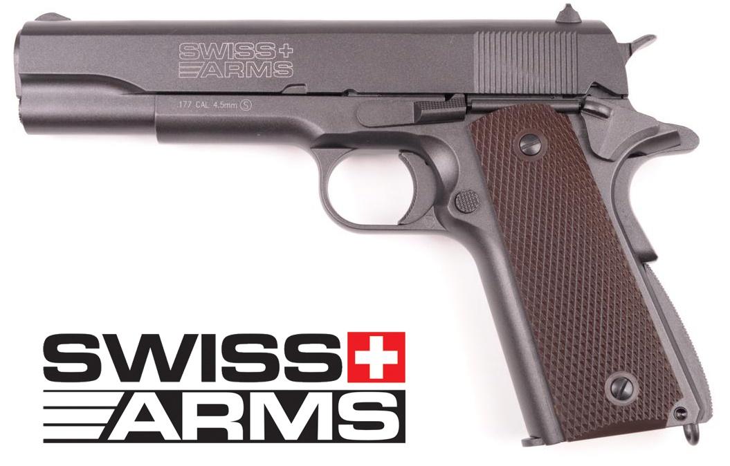 Swiss Arms SA P1911 CO2  full metal Scarrellante