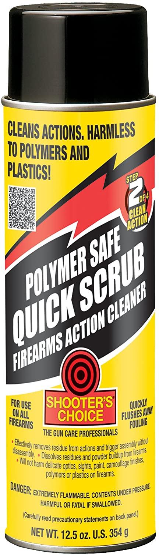 Shooters Choice Polymer Safe Quick Scrub pulitore per polimeri 12.5oz