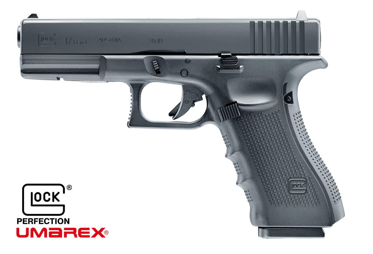 Umarex Glock 17 Gen.4 CO2 Scarrellante