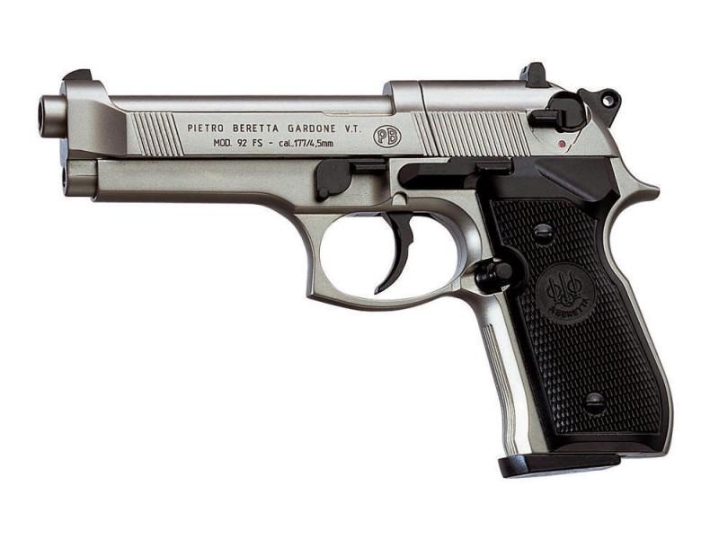 Umarex Beretta 92FS Nickel CO2 Canna fissa