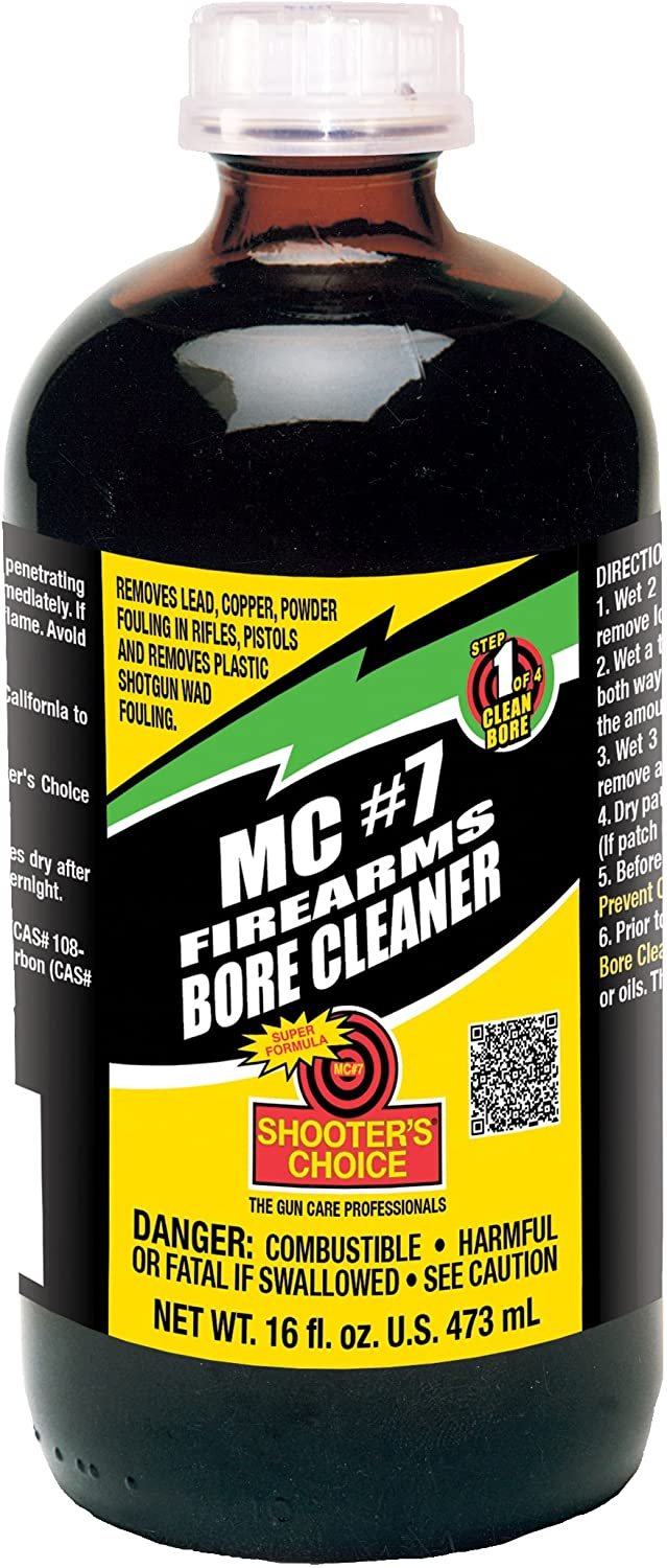 Shooter's Choice Mc#7 Bore Cleaner & Conditioner Bottiglia Vetro, 16oz