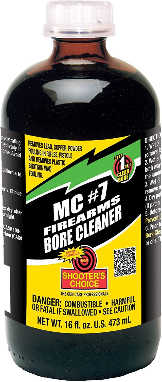 Shooter's Choice Mc#7 Bore Cleaner & Conditioner Bottiglia Vetro, 16oz