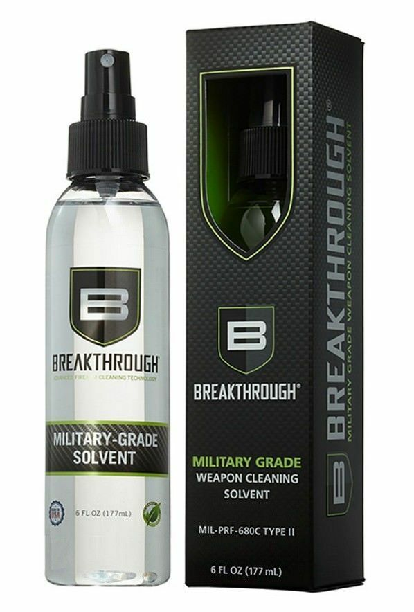 Breakthrough Military-Grade Solvente 6 fl oz Spray