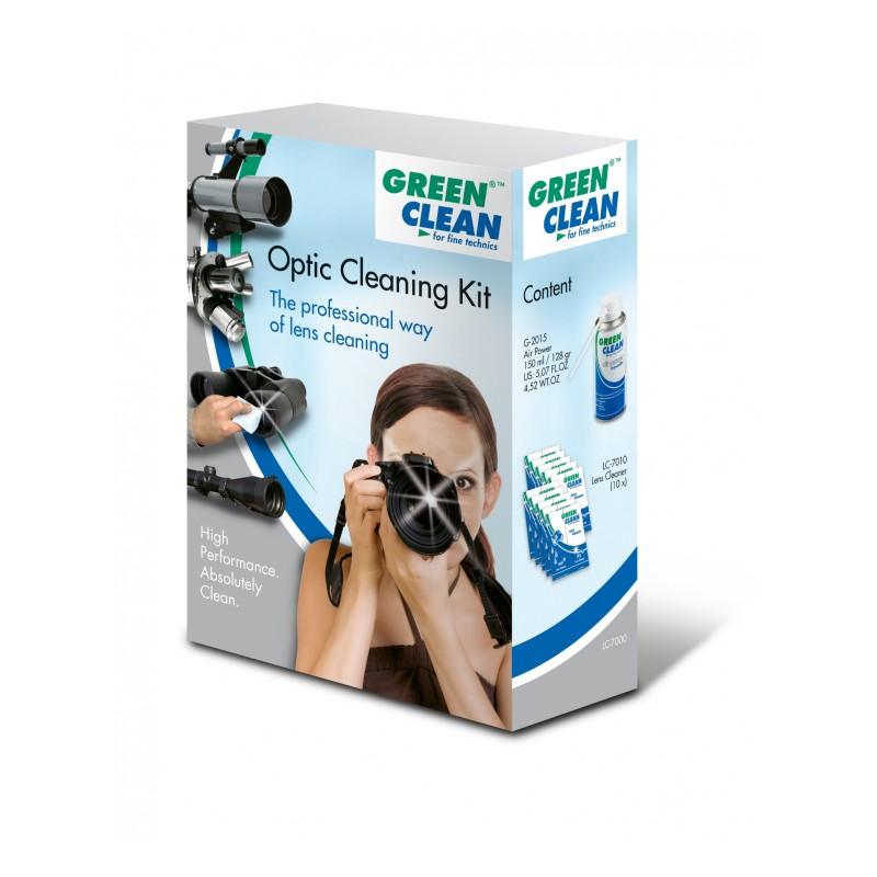 Kit pulizia ottiche Green Clean