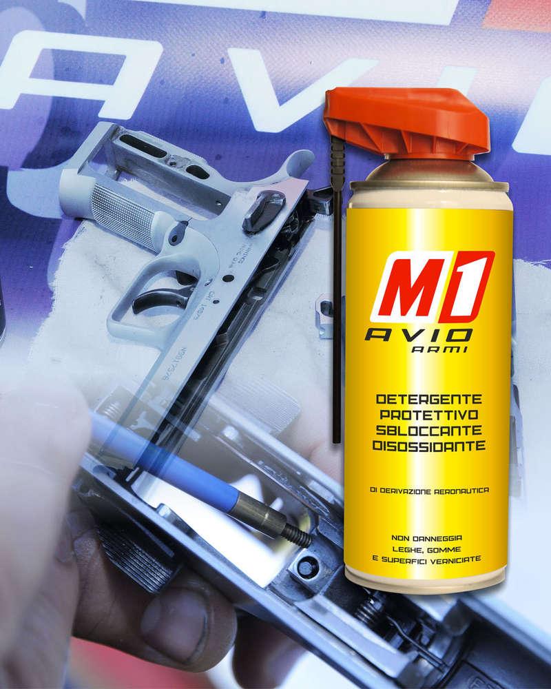 Olio Spray M1 Avio Armi 400ml